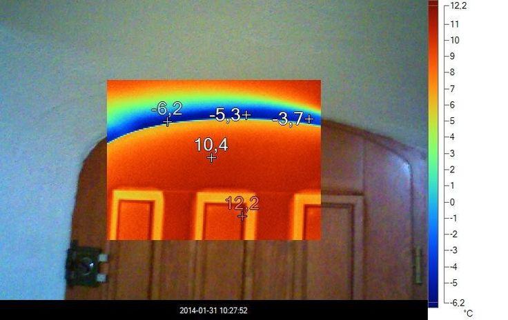 Termowizja - kontrola osadzenia okien i drzwi - szczelność budynku