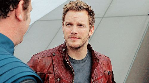 Pin for Later: A Celebration of Chris Pratt's Sexiest and Most Hilarious Star-Lord Moments And this subtle, sexy smirk . . .