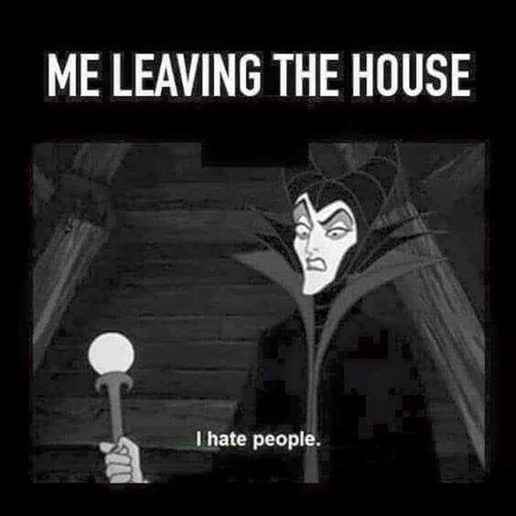 Me leaving the house .... too many stupid people there, I have to leave the the damn party! Fuck all the idiots!!!