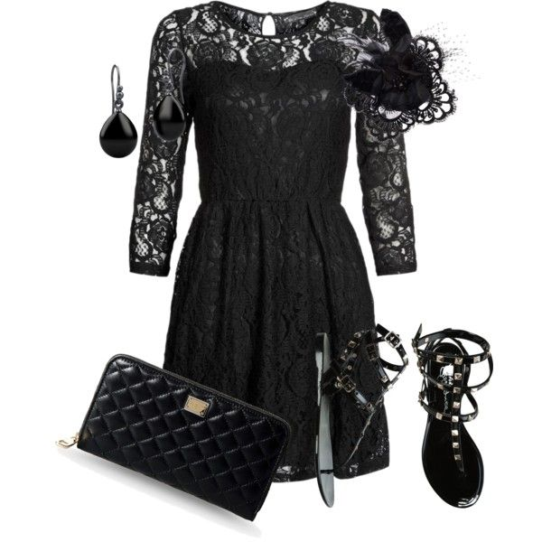 U0026quot;Funeral Outfitu0026quot; By Leilasimplice On Polyvore | Work Attire | Pinterest | Funeral Outfits The O ...