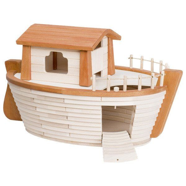Epic wooden Holztiger Ark from Send A Toy - a magnificent home for your Holztiger animals
