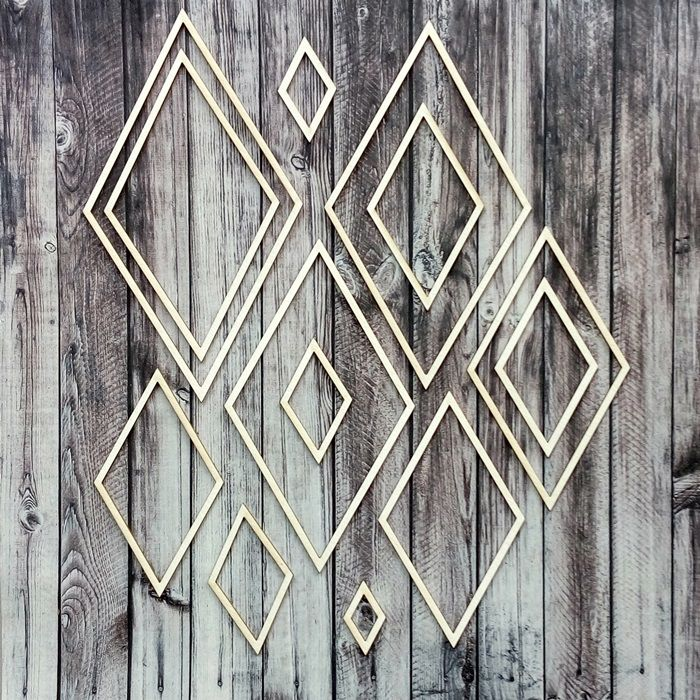 NőiCsizma | Geometrikus rombuszok