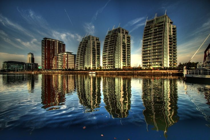 NV buildings, Salford Quays, Manchester.