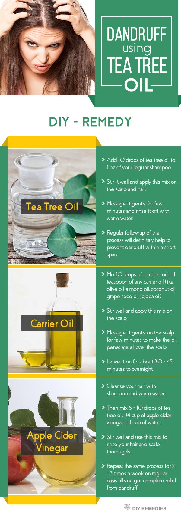 How-to-Clear-Dandruff-using-Tea-Tree-Oil