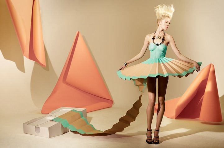 Incredibly Creative Paper Dresses - My Modern Metropolis