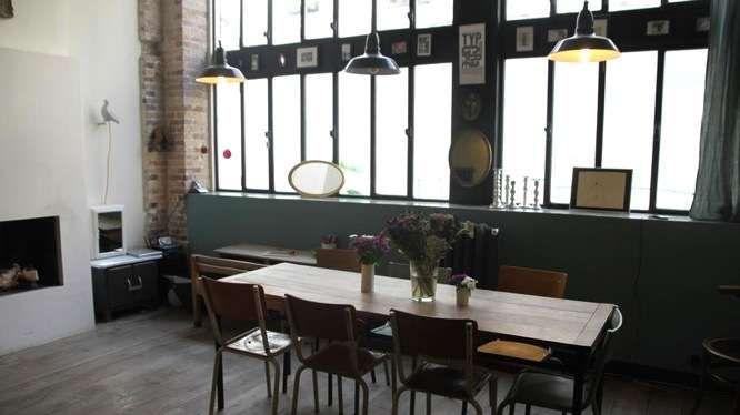 Les 83 meilleures images propos de projet salon sur for Salle a manger loft