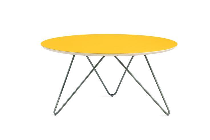 Zig-zag table R75 design by WertelOberfell studio