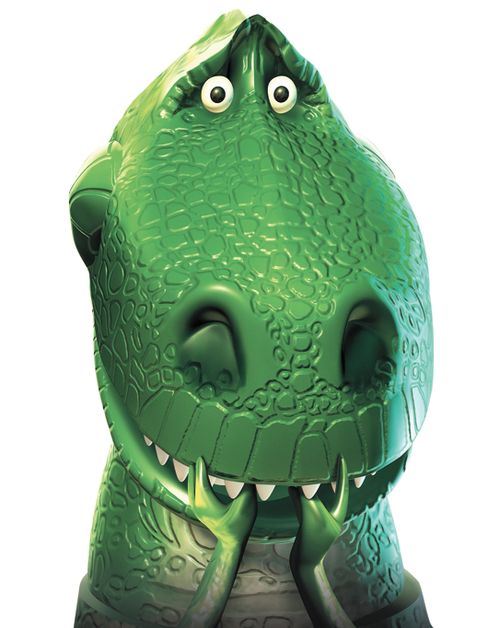Rex my favorite toy story character!!