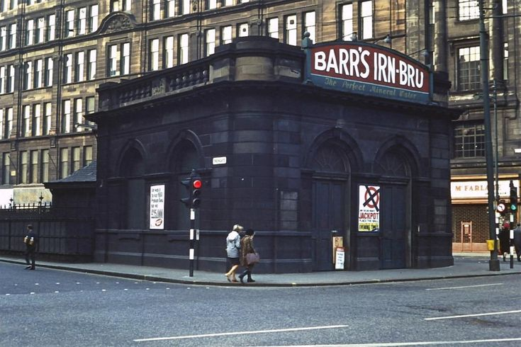 Glasgow Cross station in 1969.