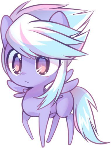 my little pony cloudchaser <3