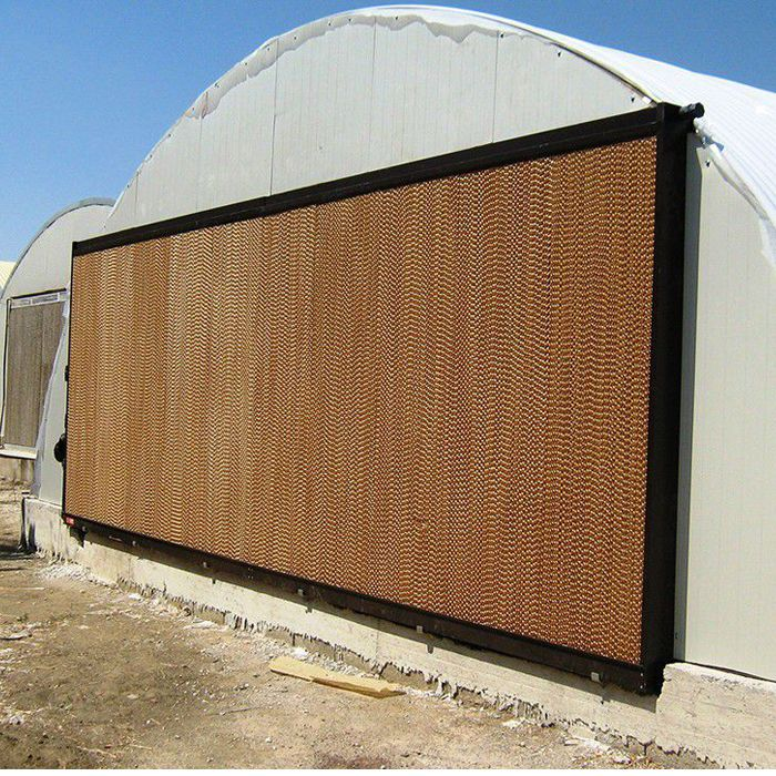 Evaporative Cooling System Cooling Pad In Poultry Farm Cooling