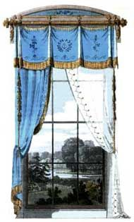 Victorian Window Treatments - Curtains - Window Styles
