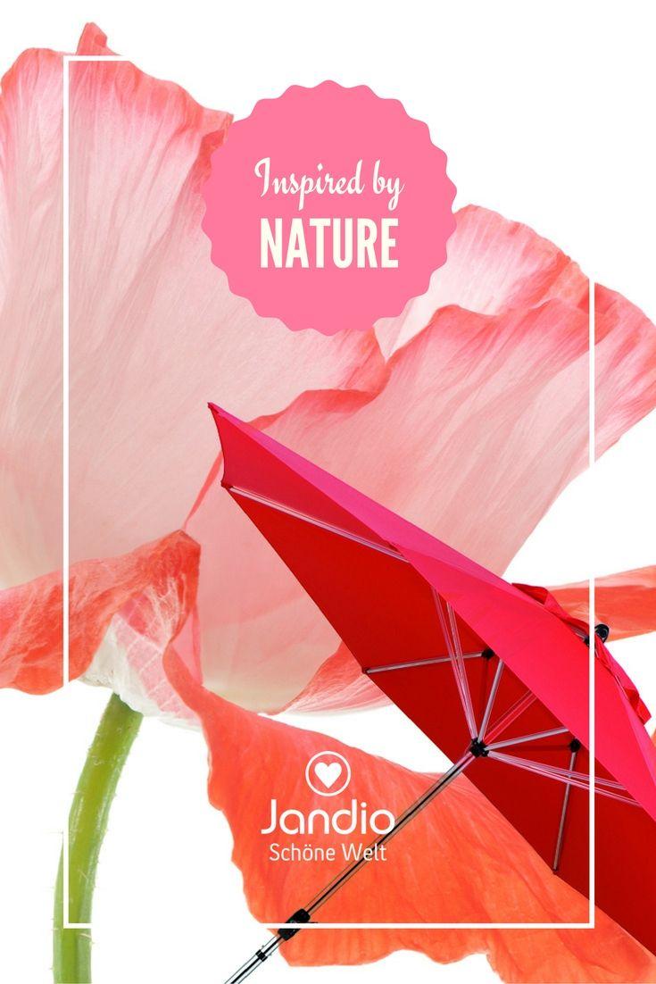 Schneider Sonnenschirm Florenz in rot, Leidenschaft, Sinnlichkeit und Lebensfreude für den Garten im Sommer