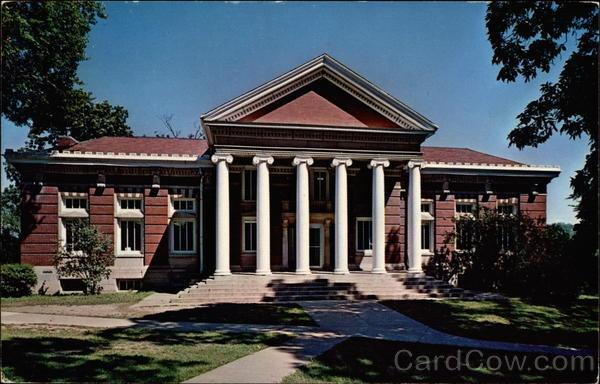 Carnegie Hall, Parsons College Fairfield Iowa