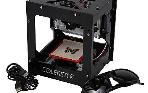 Graveur Laser Machine à Graver 1000mw DIY Mini Machine de gravure Laser Machine Graver Cuir Graveur Bois Graveur Intelligent USB Bricolage…