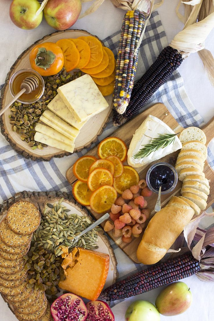 "The ""Recipe"" for a Fall Inspired Cheese Board. This is the easiest appetizer spread ever!"