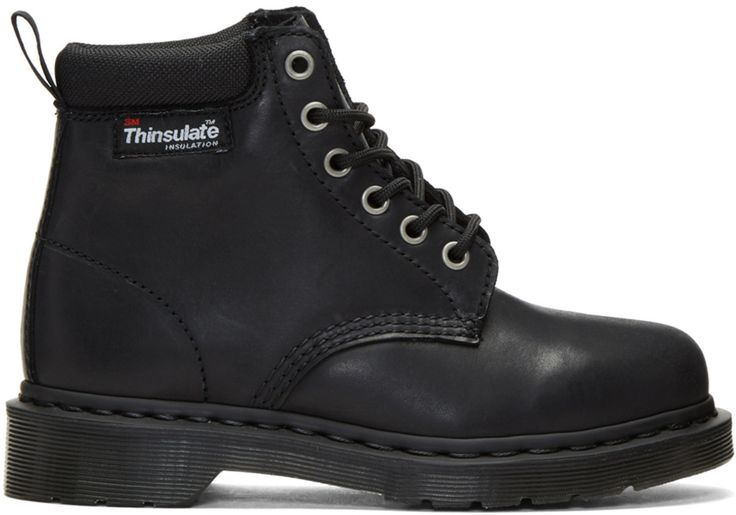 Dr. Martens - Black 939 Thinsulate Boots