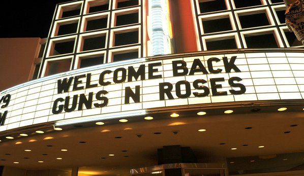 See you on Sunday. Guns N' Roses Reunion 2016