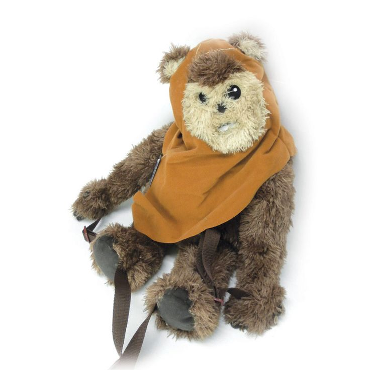 Now the you can take the Ewoks anywhere with you with this versatile Backpack Buddies Star Wars Wicket Ewok backpack. This pack features a cotton construction and has adjustable straps for a comfortab