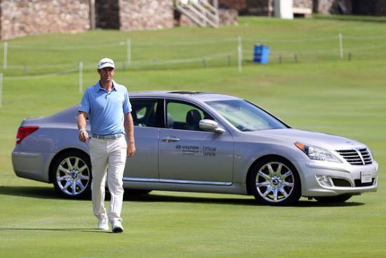 Dustin Johnson, đương kim vô địch Hyundai Tournament of Champions. Ảnh: GettyImages