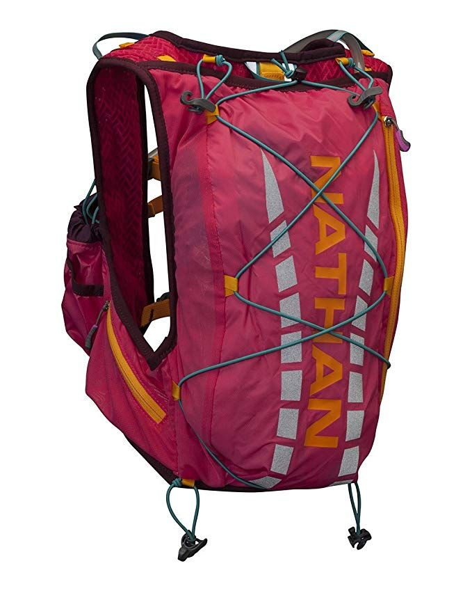 d4c802a99a Nathan Vapor Airess Race Vest Hydration Pack, 9-Liter, Small/Medium, Sparkling  Cosmo Review