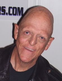 "Michael Berryman - I met this guy at a moster movie convention and he was SO nice! He makes a great cameo in ""Mask Maker"" where you can see part of his sweet personality come out."