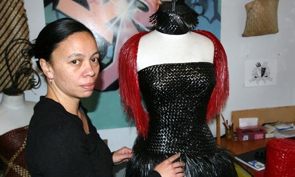 artist and designer Shona Tawhiao