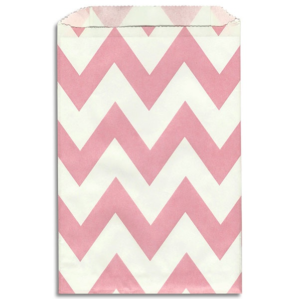 Light Pink Chevron Stripe Paper Bags      http://www.layercakeshop.com/index.php/Shop/Party/Light-Pink-Chevron-Stripe-Paper-Bags.html