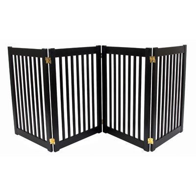 Amish Made Tall 4 Panel Pet Gate