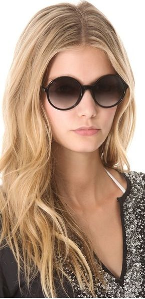Marc by Marc Jacobs Oversized Sunglasses - Spring 2015