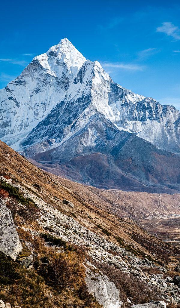 Mt Ama Dablam, Pheriche, Nepal