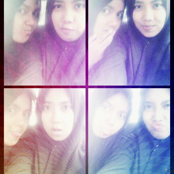 With lady rocker! \m/