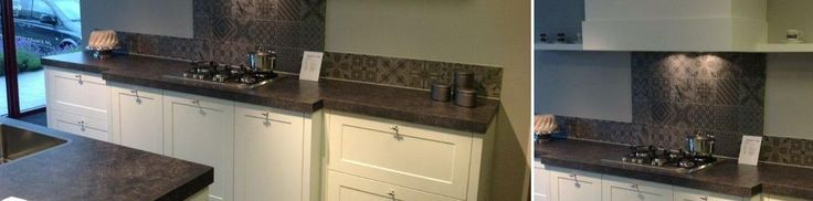Meer dan 1000 idee u00ebn over Achterwand Tegel op Pinterest   Keuken terugspatten, Moza u00efek badkamer