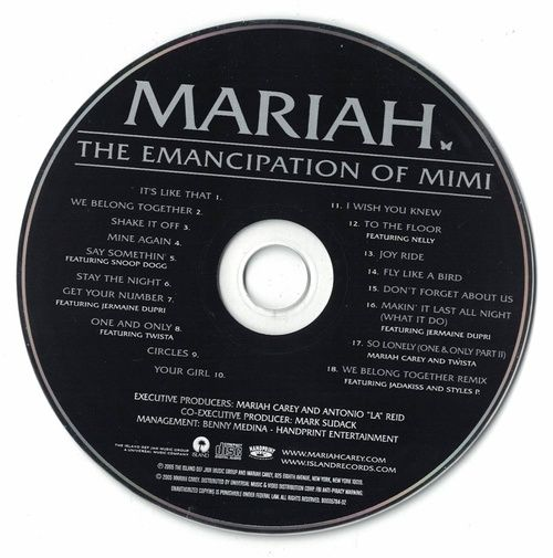 Mariah Carey The Emancipation Of Mimi 2005 CD Professionally Cleaned