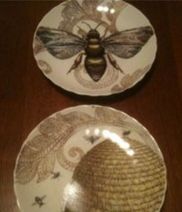 The Bee S Reverie ≗ Bee Plates ≗ The Bee S Reverie