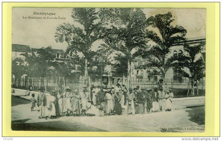 - Dom - Martinique - Fort De France - Les Mendiants De Fort De France. Edit Leboullanger Fort De France