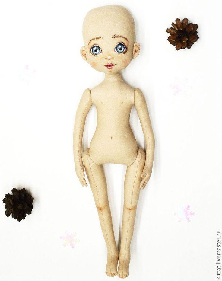 «Девочка-Зима»: создаём прелестную новогоднюю куколку - Ярмарка Мастеров - ручная работа, handmade