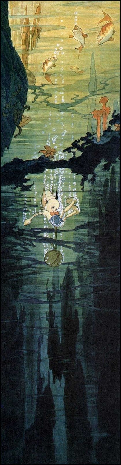 The Art Of Disney's Gustaf Tenggren