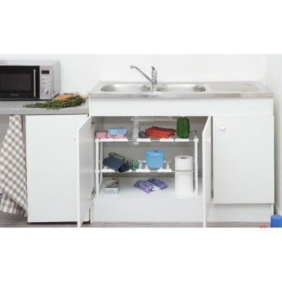 Best 25 rangement sous evier ideas only on pinterest l - Rangement sous evier ikea ...
