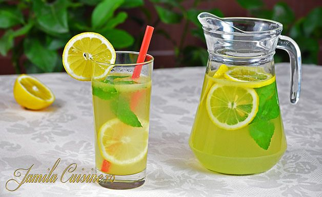 Limonada cu menta - reteta video