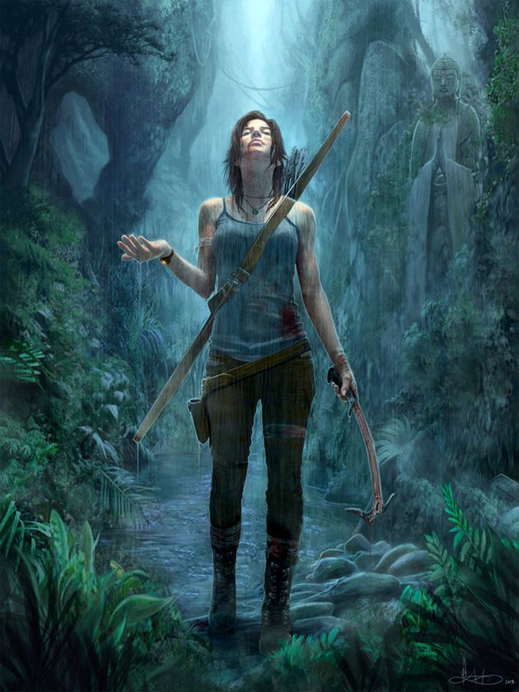 Tomb Raider - Lara Croft by Michael K. Matsumoto