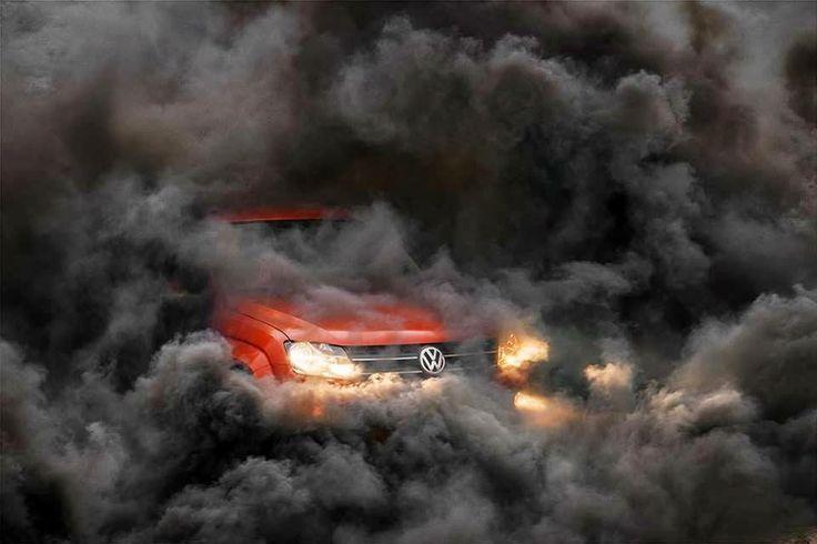 Volkswagen Amarok Burnout