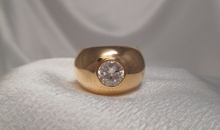 Jonc diamant «Assalie»   Bijoutier & Joaillier André PETIT