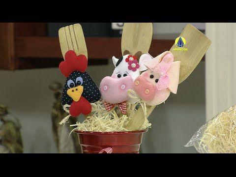 Santa Receita | Enfeites de cozinha por Ana Carolina Angeli - 30 de Deze...