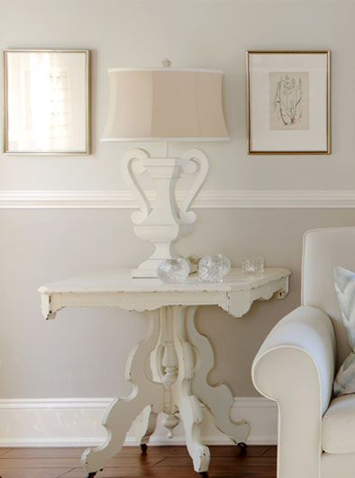 """Advice from Sarah Richardson:  SIZE MATTERS: The rule of thumb with trim and baseboard details is that bigger generally looks better. Underscaled trim details make the architecture of a home look cheap, whereas chunkier profiles will help frame your home in style! Even in a home with standard 8' ceilings, you should still use a baseboard at least 7"""" in height."""