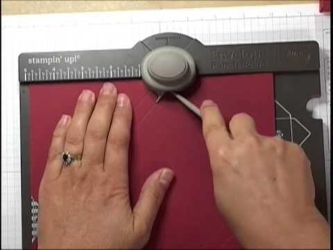 Réaliser une boite de cartes en quelques secondes avec la planche de marquage insta enveloppes de Stampin'UP!