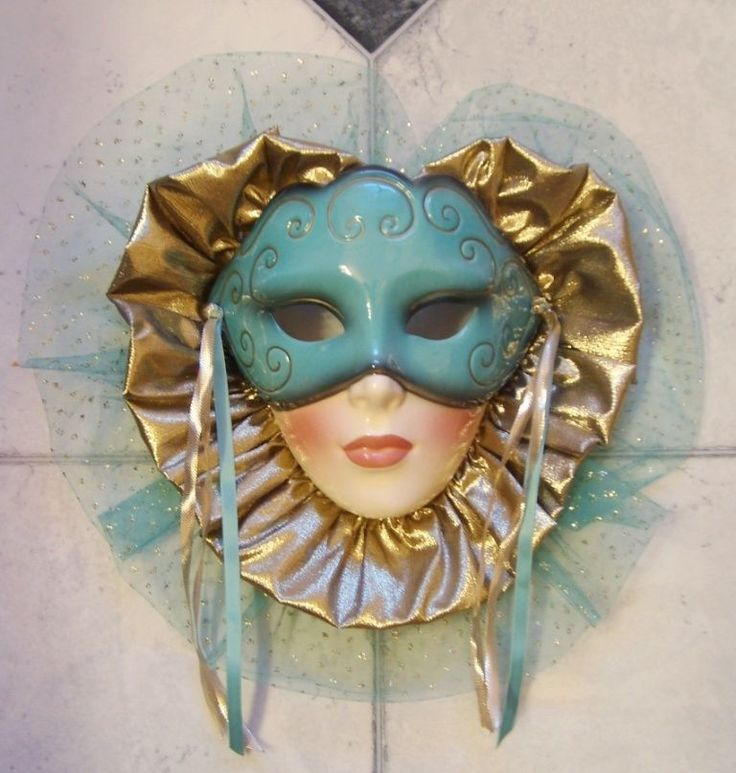 Decorative Wall Face Masks : Best images about ceramic and carnival masks on