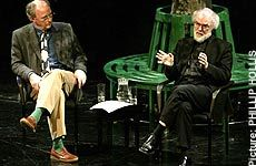 Philip Pullman and the Archbishop of Canterbury, Dr. Rowan Williams, discussing religion in art and literature. Audio also available.