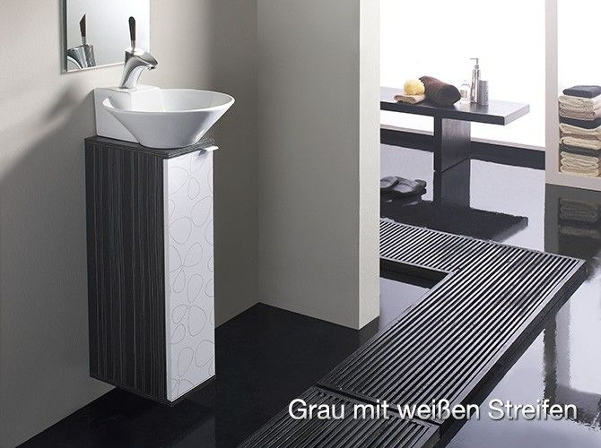 badm bel biarritz grau komplettset g ste wc 20cm g steklo g steschacht pinterest. Black Bedroom Furniture Sets. Home Design Ideas