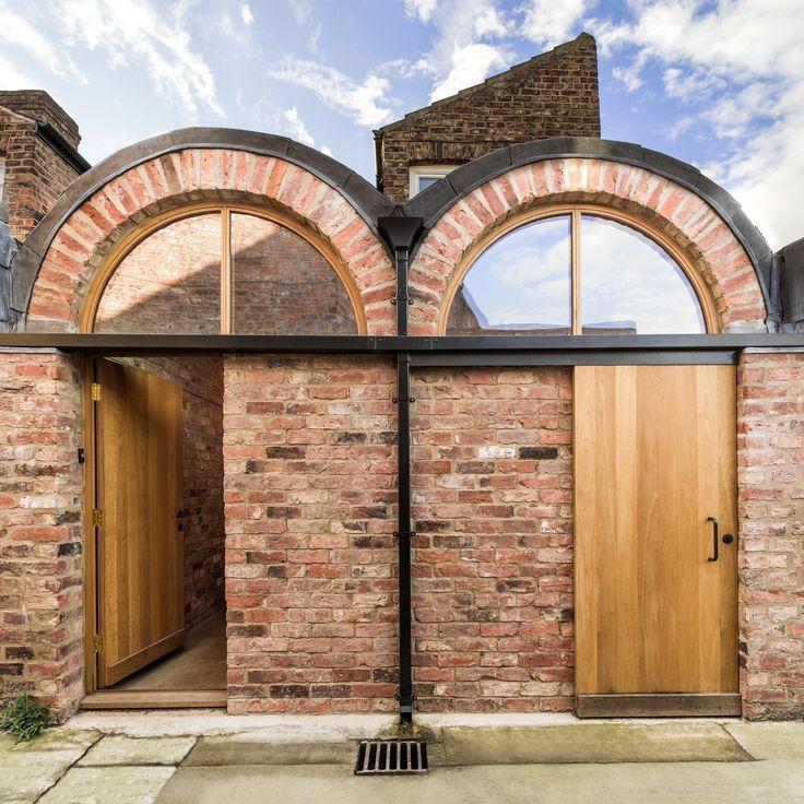 barrel vaulted handmade brick arches added by studio ben allen extends the back of this victorian - Wintergarten Entwirft Irland